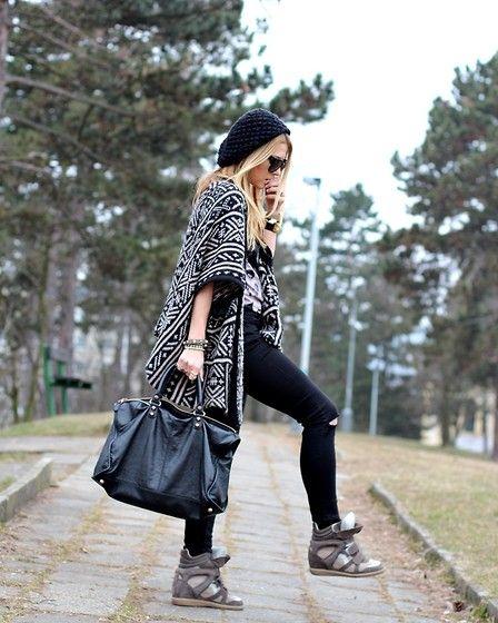 High waist jeans (by Czech Chicks) http://lookbook.nu/look/4780765-Brandy-Melville-Cardigan-Balenciaga-Bag-Topshop