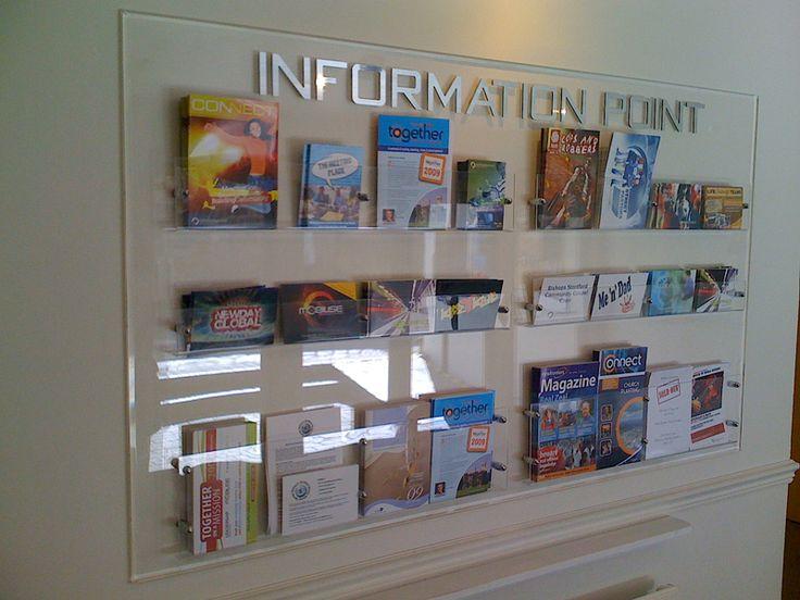 creative brochure displays - Google Search