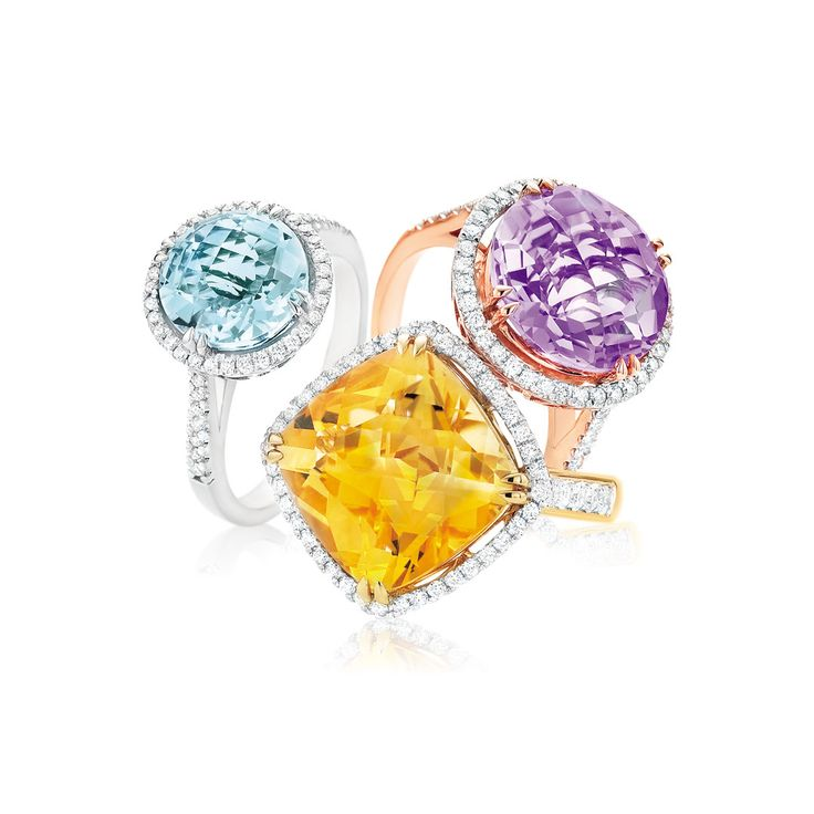 Are you celebrating a November birthday? Citrine (pictured centre) is just perfect for you! Now's time to add a splash of colour to your jewellery collection! Visit your nearest Mazzucchelli's store for all your colourful favourites! #mazzucchellis #jeweller #jewellery #birthstone #birthstones #novemberbirthstone #citrine #aquamarine #amethyst #citrinejeweller #citrinering #aquamarinejewellery #aquamarinering #amethystjeweller #amethystring #birthstonejewellery