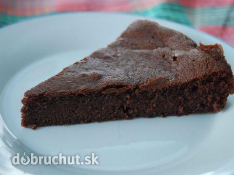 Gaštanovo – čokoládové brownies bez lepku