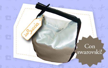New bags collection by La Buccia Borse with Swarovski - Chiavari
