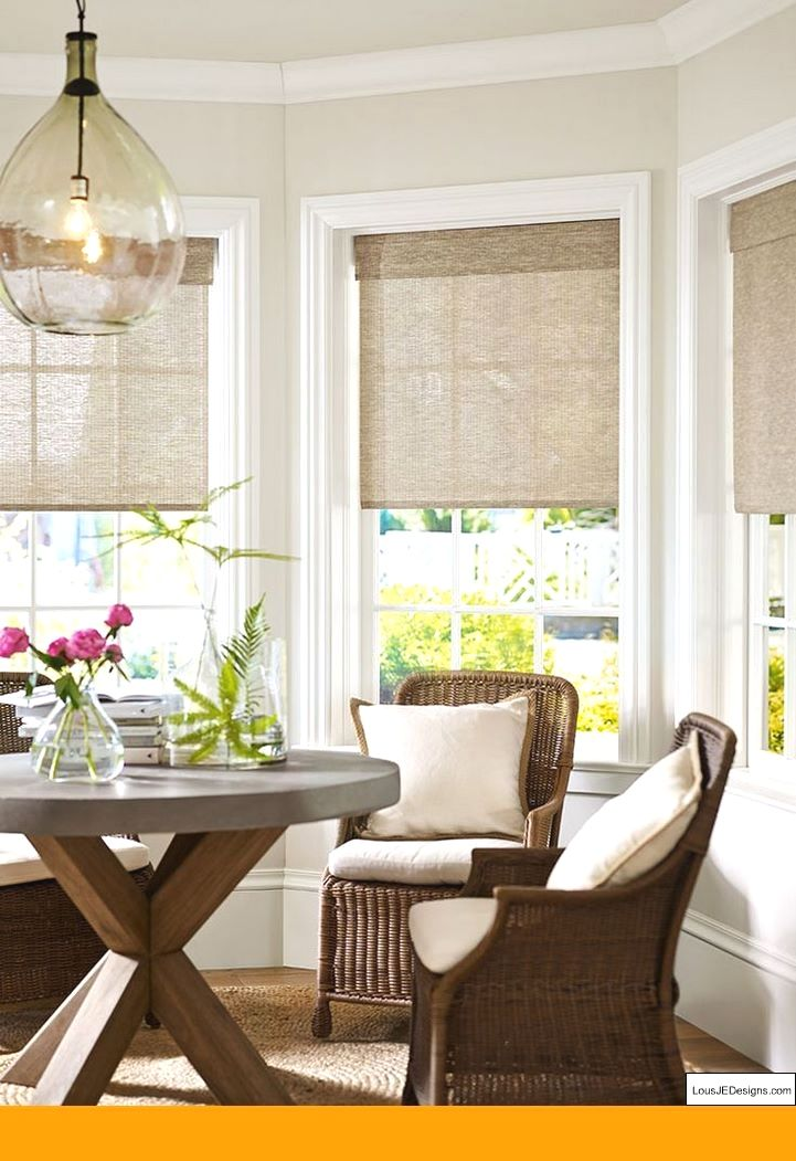 See More Window Coverings And Simple Window Treatments For Bay Windows Pic 13401090 Blinds Kitc Kitchen Bay Window Living Room Windows Bay Window Treatments