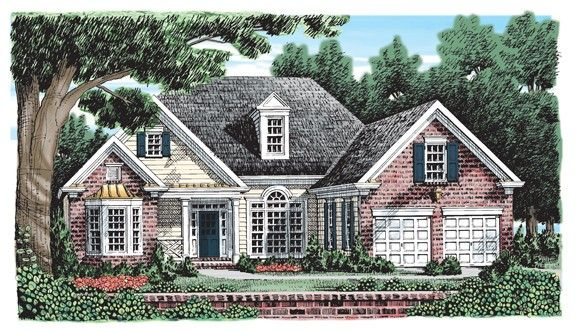 New american house plan with 1795 square feet and 3 for Home source com
