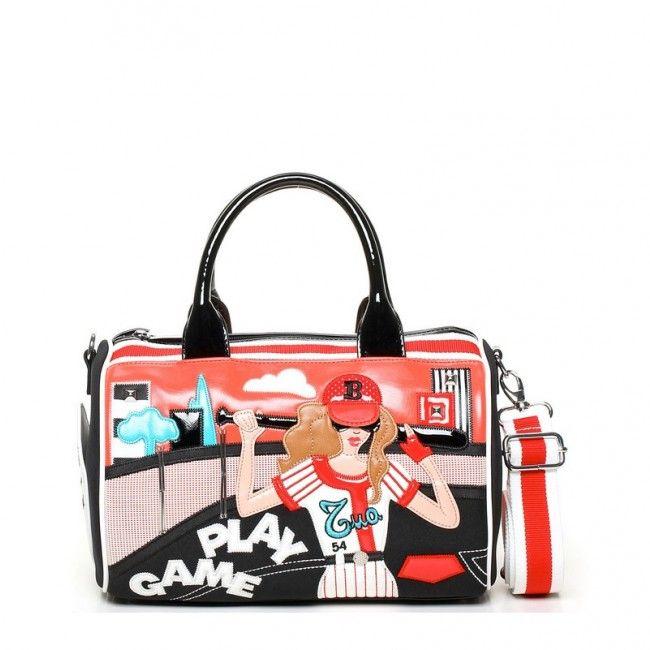Borsa Braccialini Cartoline Sport Baseball #borse #braccialini #handbags #cartoline #sport