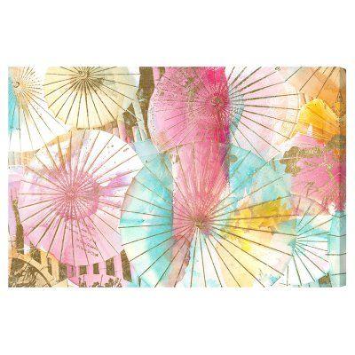 Oliver Gal Umbrella Shop Canvas Art - 20525_72X48_CANV_XXHD
