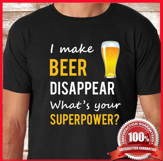 Beer shirt for him or her. Beer tshirt makes an awesome gift for him. This is our best selling Beer T Shirt from our online store. Beer tee