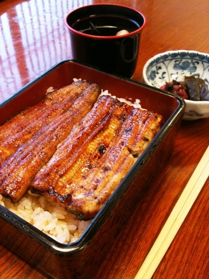 unaju - grilled eel rice 「うな重」 AWW YISS
