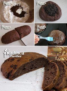 Çikolatalı Ve Kakaolu Ekmek Tarifi