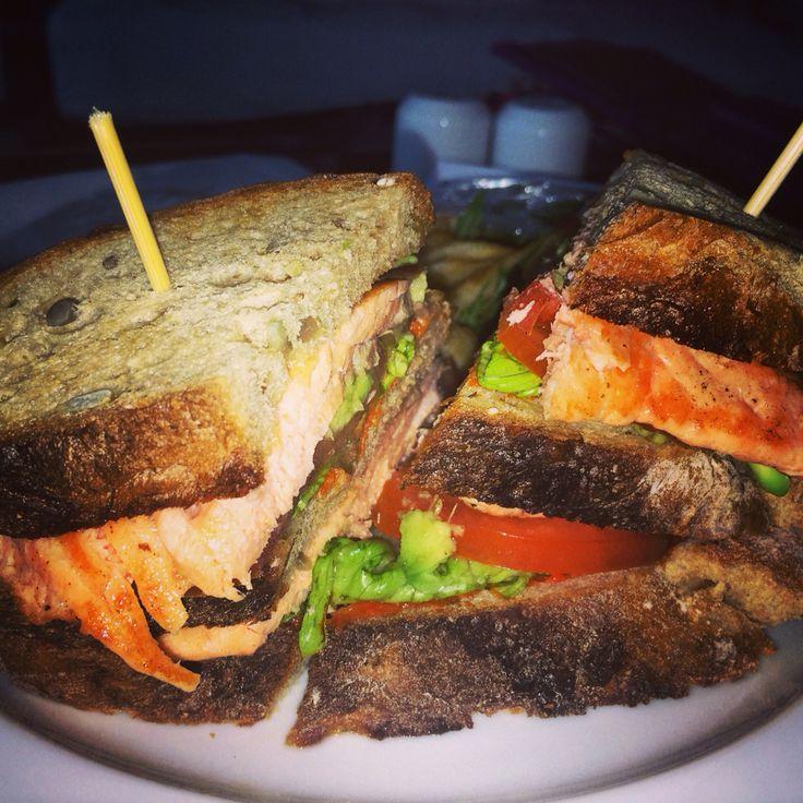 Salmon Sandwich, Kuala Lumpur