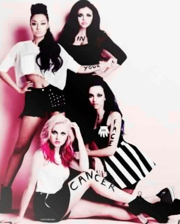 Little Mix.  They are the sweetest girls on earth I love them. BIG LOVE TO LITTLE MIX!!!