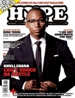 Khuli Chana suits up for April's cover of Hype. #SAHipHop
