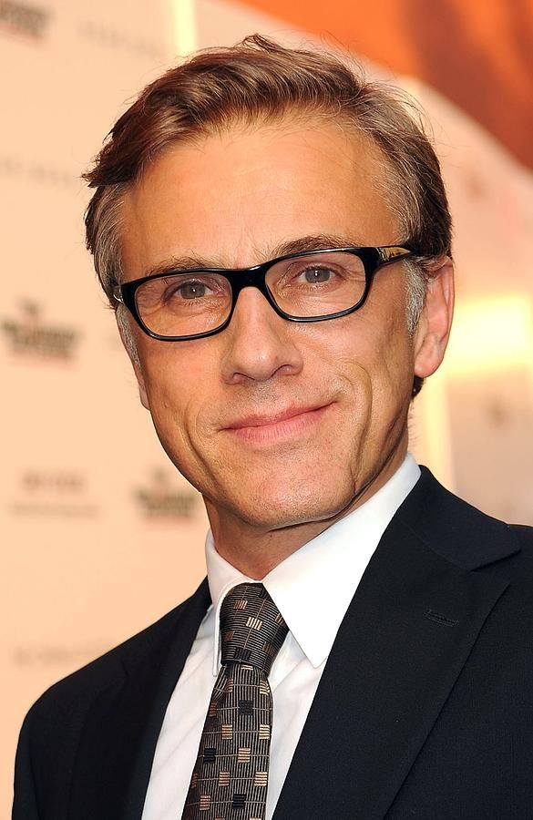 Christoph Waltz- Say what you want, he may be old, but I love him