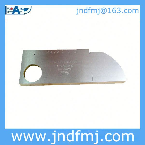 Calibration Block NO.1(K1): USD123/pc with your Logo Email: jndfmj@163.com