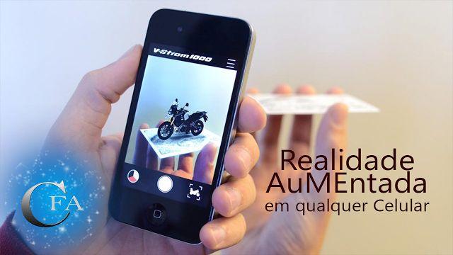 Veja como criar divertidos tipos de realidade aumentada em qualquer celular ou smartphone sem ter a necessidade de óculos para ver o resultado. Acesse: https://youtu.be/-N1WgvLI0Lw