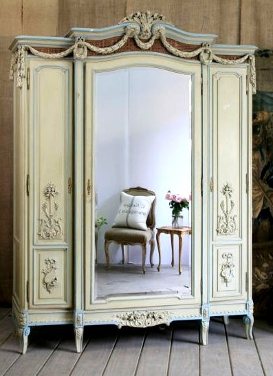 Antique French Armoire. All of Narnia could fit inside.