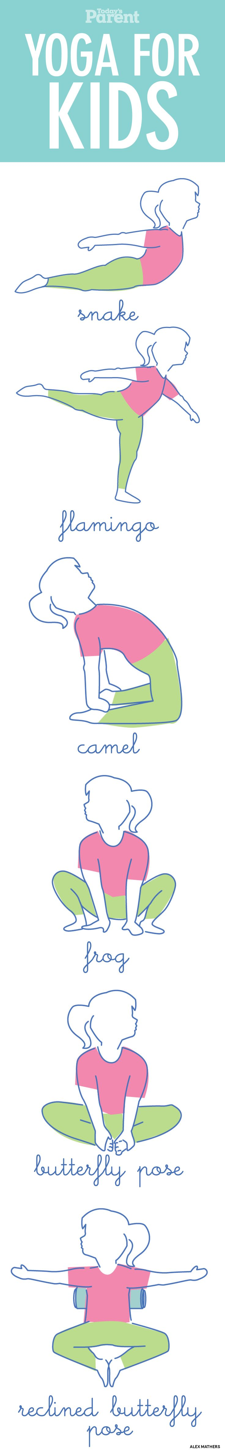 simple yoga poses to help kids fight anxiety and cope with stress