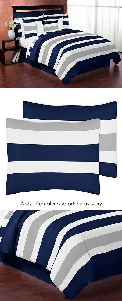 17 Best Ideas About Navy Blue Comforter Sets On Pinterest