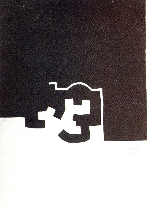 "Eduardo Chillida (1924 - 2002), ""Ibiza"", 1975"