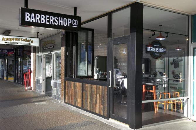 Barbershop Co | To bring online to life by creating THE BarberShop Co brand in-store and to create an experience for Kiwi blokes wanting some 'me time'.