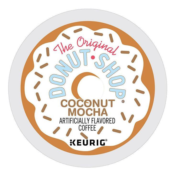 the original donut shop coffee keurig kcups coconut mocha - Donut Shop Coffee