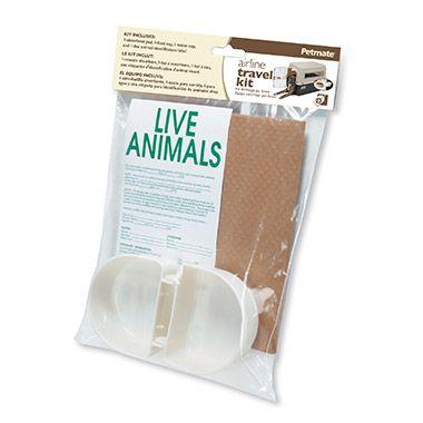 Pet Value Store  PETMATEAirline Travel Kit 12pk $11.99