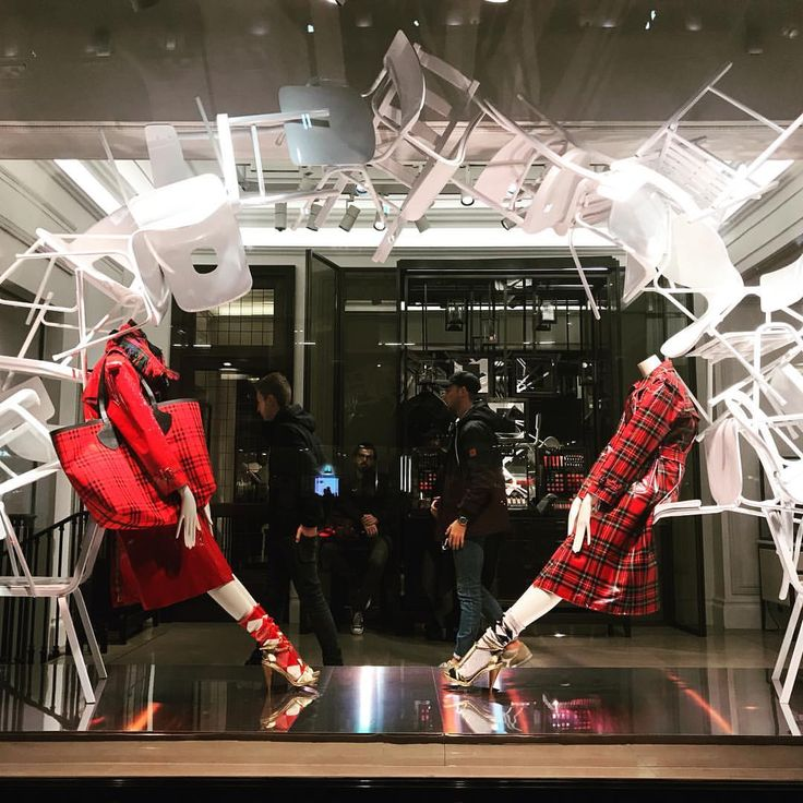 "BURBERRY, Regent Street, London, UK, ""Listen Stella... Life is like musical chairs... You never know when the music stops"", photo by Sarah Bailey, pinned by Ton van der Veer"