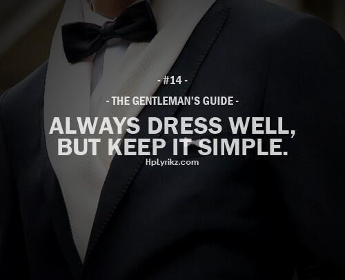#TheGentlemanGuide #14