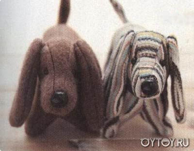 DIY Dachshund Plush - FREE Sewing Pattern