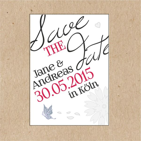 47 best save the date wedding inspiration images on pinterest, Einladung