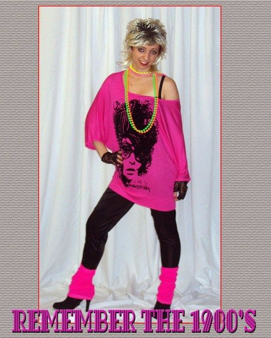 How to dress for 80s era fashion