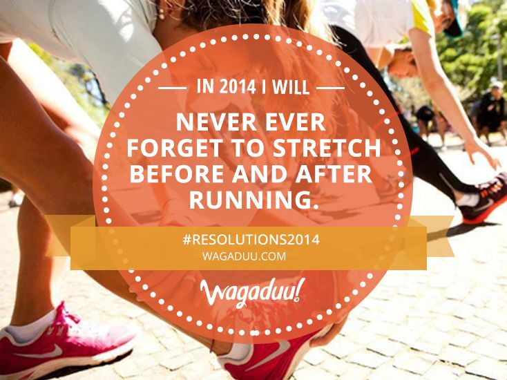 Take better care of your muscles in 2014! #Resolutions2014 #marathon #running