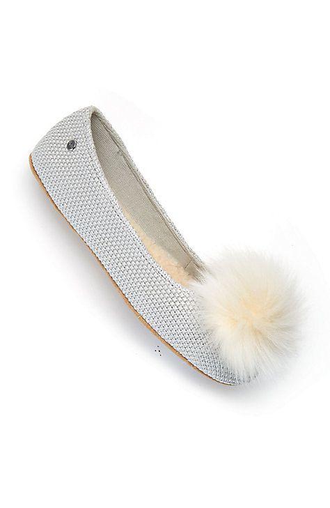 b567cd2d2 UGG® Andi pom-pom slippers | NO HIGH HEELS | Pinterest