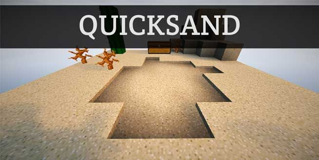 Minecraft Invention: Quicksand in Minecraft - If you're working on an adventure map, evil ways to trap players are always interesting. If you like playing adventure maps, peeking behind the curtain can be interesting. If you don't fit either of those categories, this might not be all that interesting. Still here? Great!... http://gearcraft.us/minecraft-invention-quicksand-minecraft/