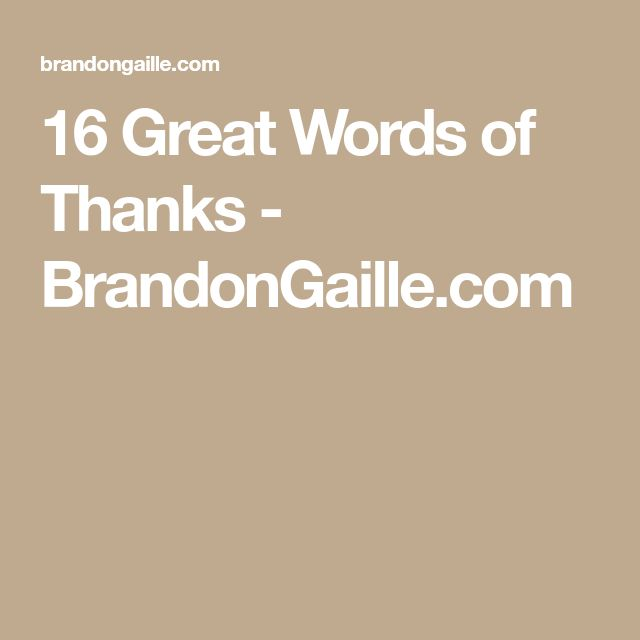 Words Of Thanks And Appreciation Quotes: Best 25+ Words Of Appreciation Ideas On Pinterest