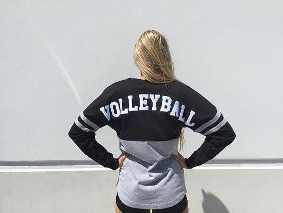 Spirit Volleyball Jersey by trendsettersvolley on Etsy