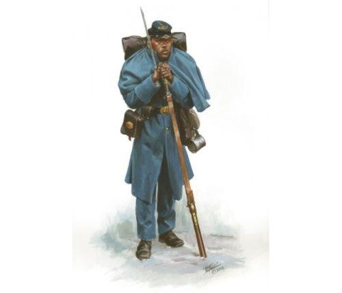 Les soldats noirs dans la guerre de Sécession