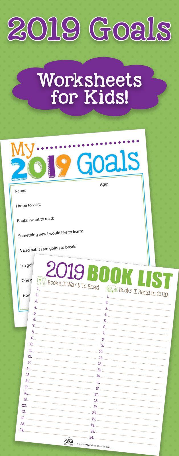2019 Goal Setting Worksheets For Kids Worksheets For Kids Goals Worksheet Kids Goals [ 1600 x 628 Pixel ]