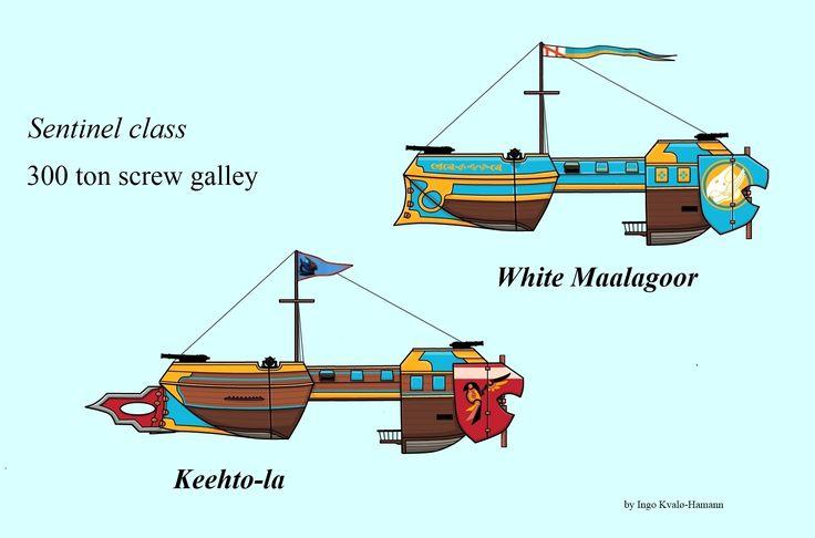 Space 1889 Screw Galleys