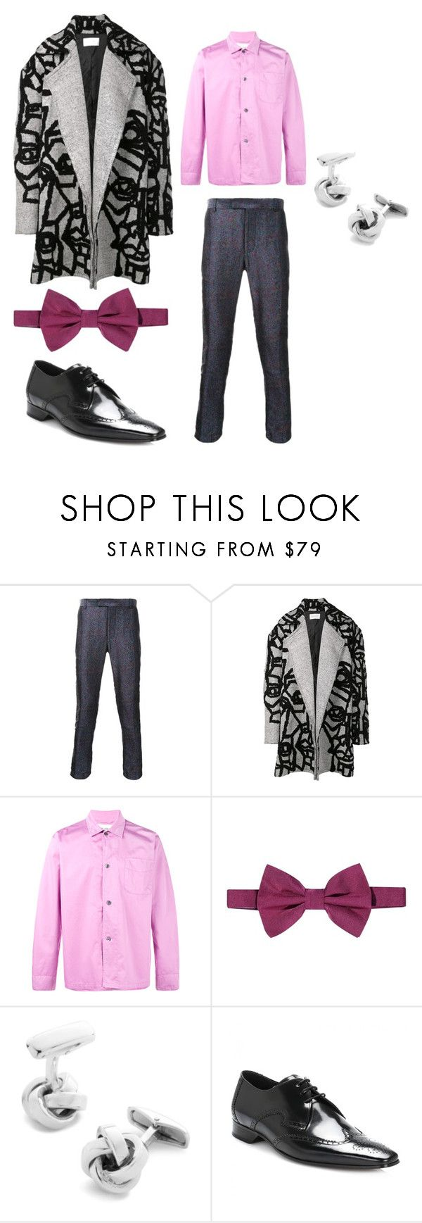 """Australian designer"" by sparklepieceblog on Polyvore featuring STRATEAS.CARLUCCI, Our Legacy, Armani Collezioni, Belfiore, Jeffery-West, men's fashion and menswear"