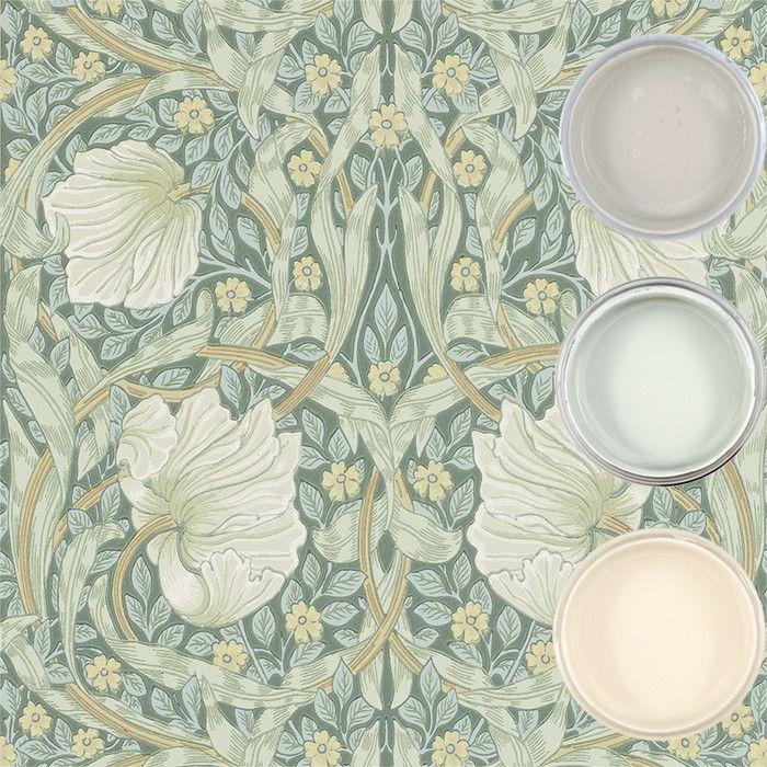 Tapet - Pimpernel - Inspiration: Auro ekologisk färg och ytbehandling