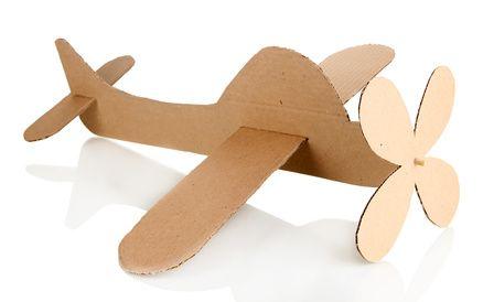 como hacer un avión con cajas de carton - Cerca amb Google