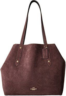 New COACH Suede Large Market Tote online. Perfect on the Coach Handbags from top store. Sku geir60917ouii68062