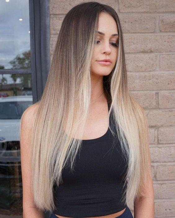 Clique na foto e conheça o melhor método de  CRESCIMENTO CAPILAR NATURAL da internet.  ______________________________________________________… in 2020 | Hair styles, Straight hairstyles, Pinterest hair