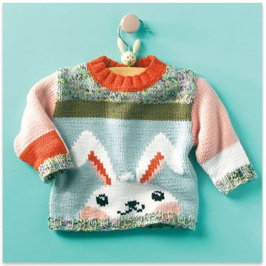 http://www.ravelry.com/patterns/library/bunny-brassiere ---FREE--. modele pull lapin