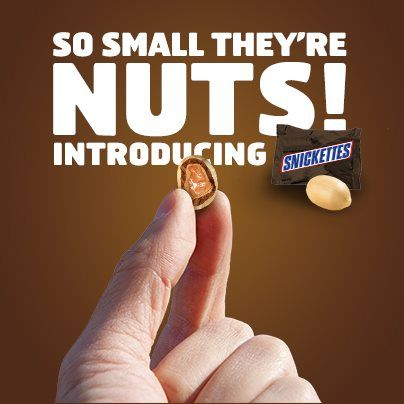 APRIL FOOLS: Snickers Introduces Snickettes Melinda Holm + Associates #aprilfools #recruiters #advertising