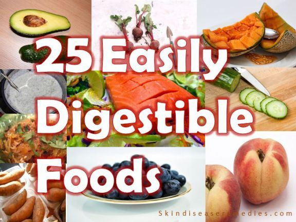 easily digested foods