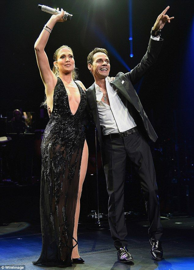 They make magic together: Jennifer Lopez told Extra on Thursday she thought her August 27 Radio City Music Hall reunion in NYC with Marc Anthony was 'awesome'