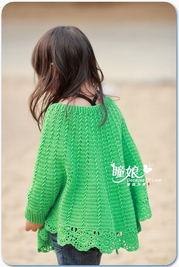 Crochet Kids Bebe Pinterest Girls Ponchos And Crochet