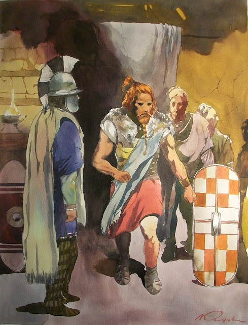 La guerre des Gaules: Arioviste le Germain - Ariovist the German