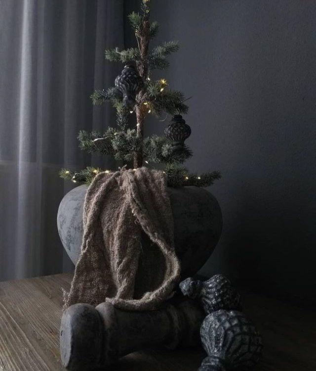 Sobere Kerst Landelijke Kerstbomen Kerst Kerst Ideeen